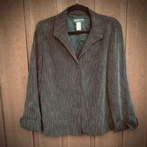 UNSTRUCTURED BOXY BLAZER JONES NY COLLECTION SZ 6